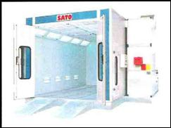 Sato Spraying Drying Booth
